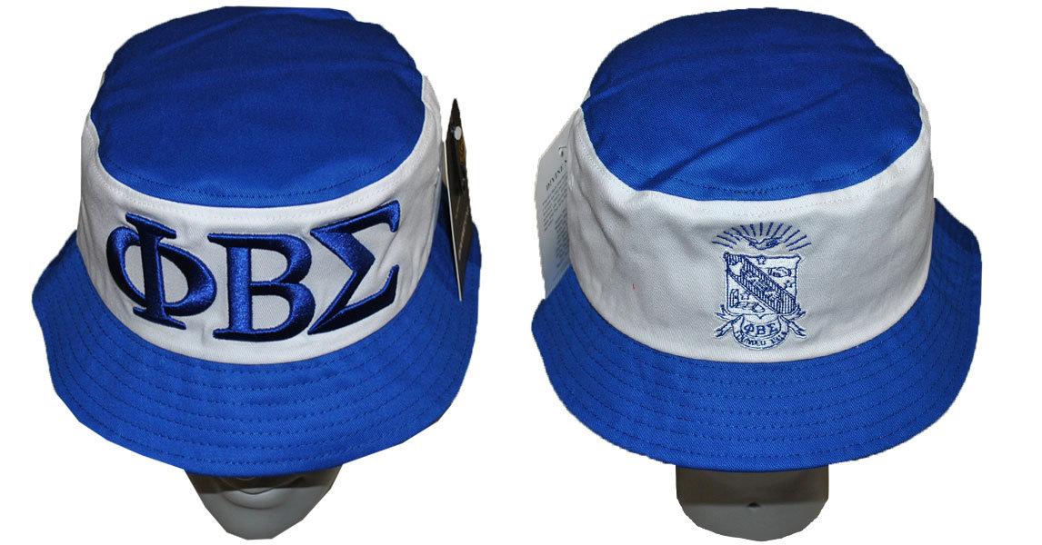 6a2e490b07700 Phi Beta Sigma Bucket Hat