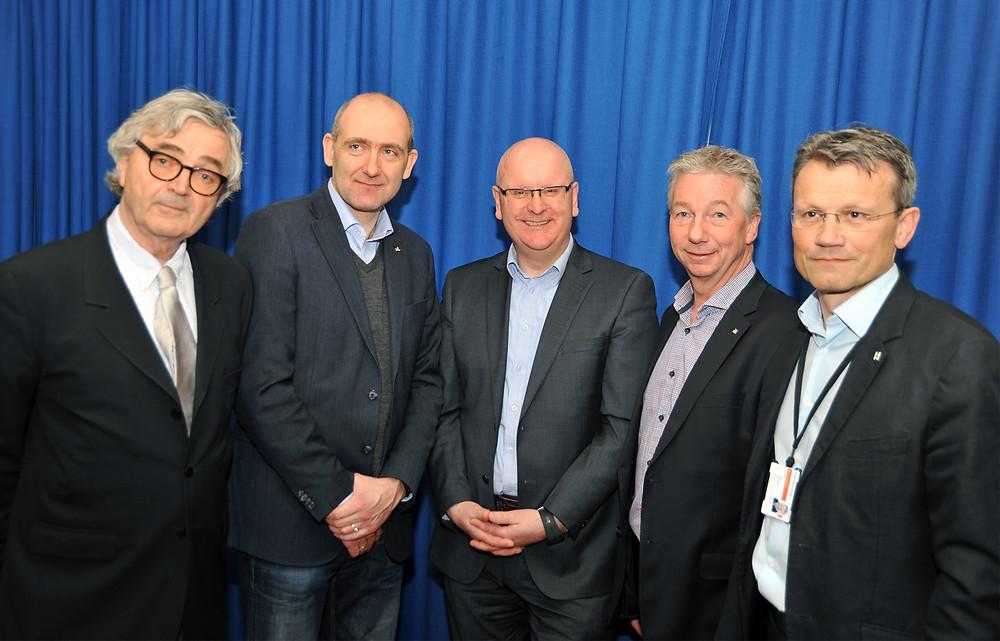 Statens personaldirektør og de fire hovedsammenslutningslederne