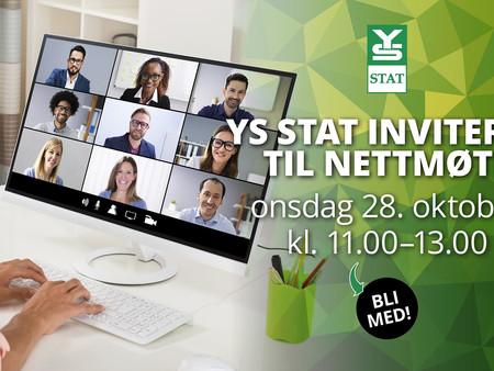 Se opptak fra nettmøtet med YS Stat