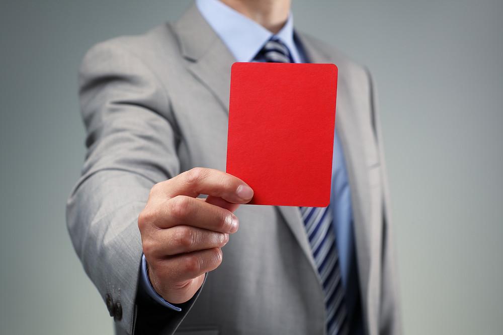 Rødt kort til KMD