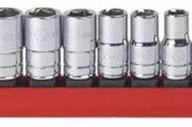 """GEARWRENCH 10 Pc. 1/4"""" Drive 6 Point Standard SAE Socket Set - 80303"""