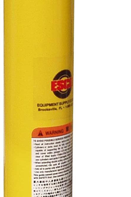 ESCO 10305 10 Ton Hydraulic Ram Cylinder, 10 in. Stroke