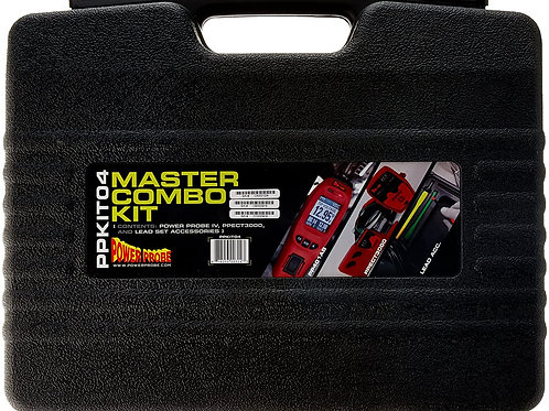 POWER PROBE IV Master Combo Kit - Red (PPKIT04) Includes Power Probe IV with PPE