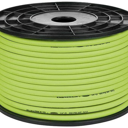 PLASTILINUM Pro Air Hose. Bulk Plastic Spool. 1/4 in. x 250 ft. Heavy Duty.