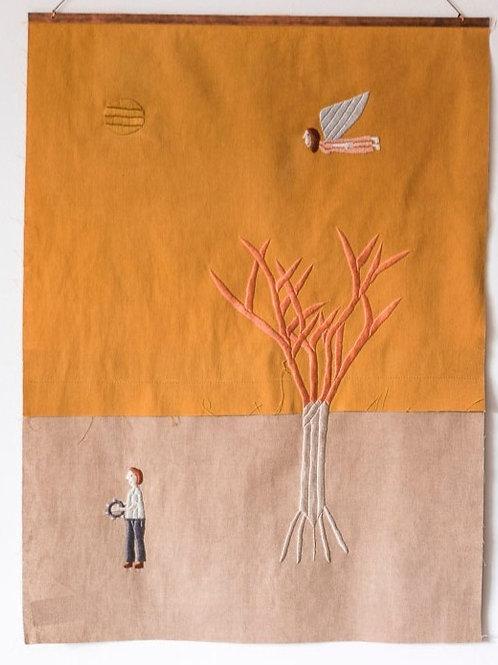 Tocador, árvore e anja