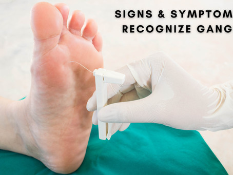 Signs and Symptoms to Recognize Gangrene