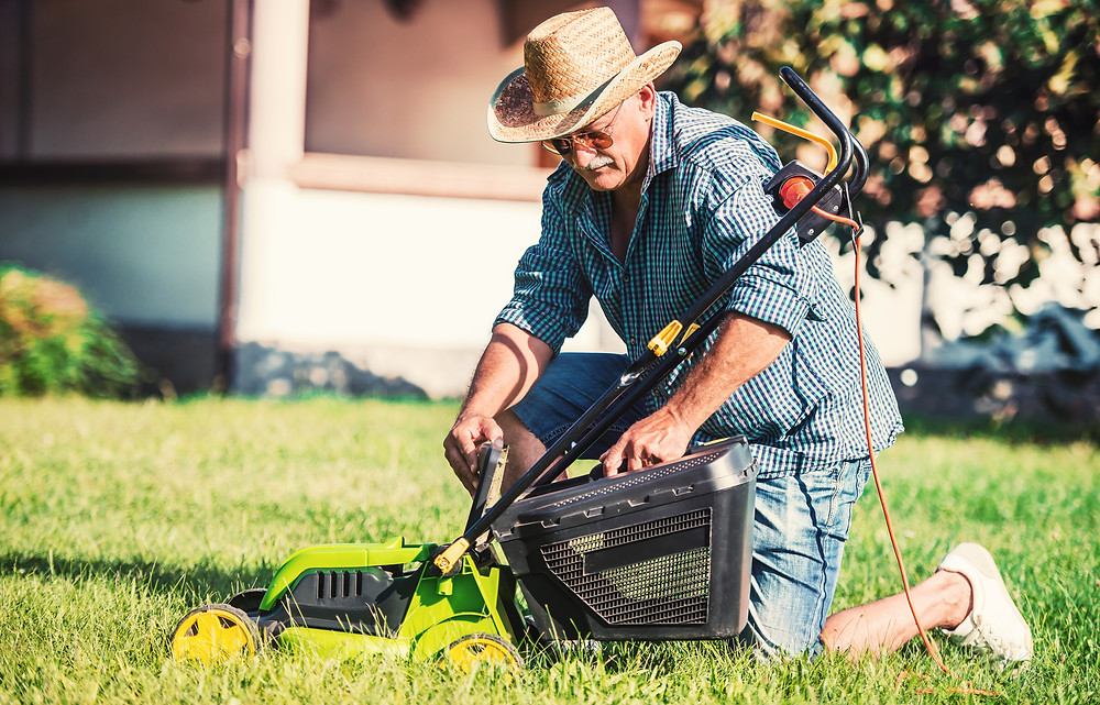 stay safe in high temperatures lawn mower parts