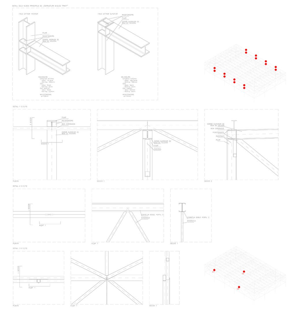 Pavelló estructura 2
