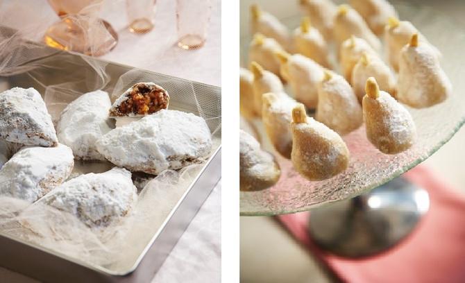 Famous wedding desserts of Greece