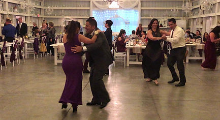 saxon manor shabby chic barn latin salsa dance wedding dj tampa fl