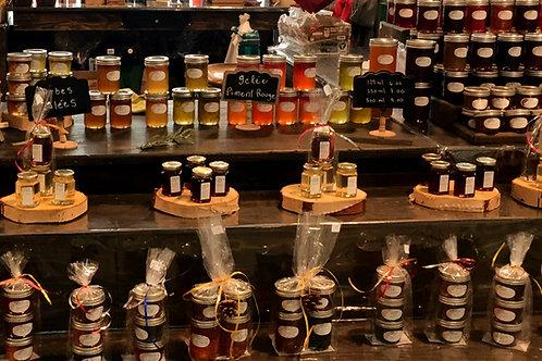 Choix de 19 variétés de gelée en  différents formats