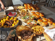 On set catering by wixted catering