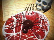 Halloween Chocolate Spider Wixted Cateri