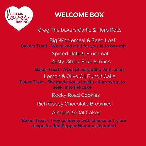 Welcome Big Bakes Box
