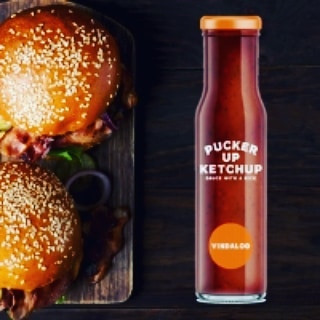 Pucker Up Sauce Created by Wixted Catering