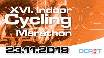 Save the Date: XVI. Indoor Cycling Marathon am 23.11.2019