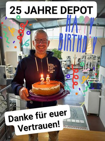 25 Jahre DEPOT - HAPPY BIRTHDAY!