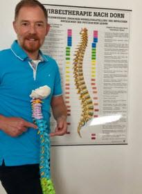 Ab September:  Stefan Wildner verstärkt uns als ausgebildeter Heilpraktiker und Chiropraktikter