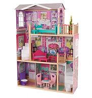 KidKraft 18-Inch Dollhouse Doll Manor-mi