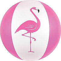 Kangaroo Flamingo Beach Ball 1.jpg