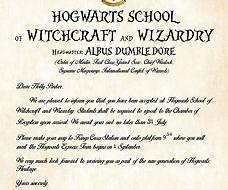 Pixie Paper Hogwarts Acceptance Letter.j