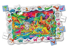 TLJI Puzzle Doubles Find It! Dinosaurs C