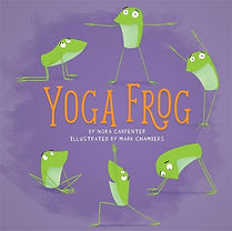 Running Press Kids Yoga Frog Nora Shalaw