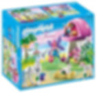 Playmobil Fairies with Toadstool House-m