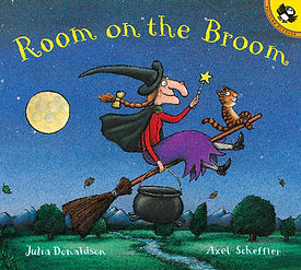 Book Room on the Broom Julia Donaldson A