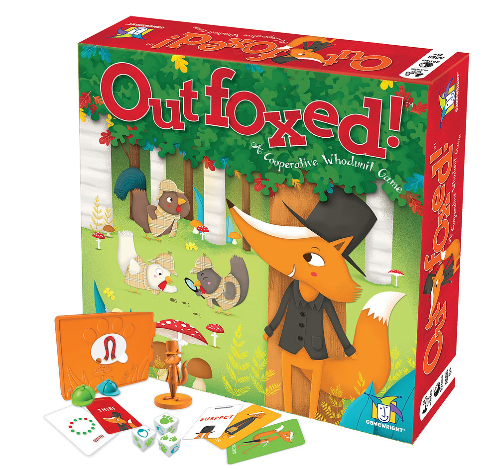 Go Go Gelato! Board game Blue Orange Games review toy