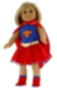 Dress Along Dolly Super Girl Outfit Comp