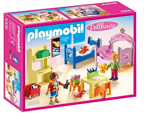 Playmobil Deluxe Dollhouse Children's Ro