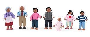 KidKraft Doll Family African American-mi