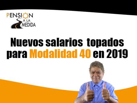 """¿Inicias M-40 este año? Entérate del nuevo tope """"salarial"""".2019"""