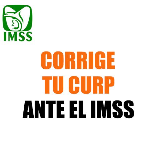 Corrige tu CURP ante el IMSS