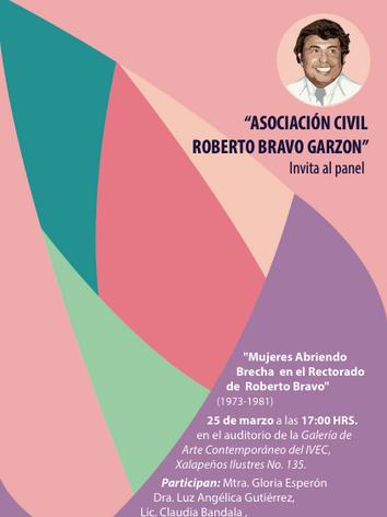 Mujeres abriendo brecha en el rectorado de Roberto Bravo Garzón