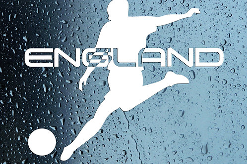 England Football Car Window Sticker Decal