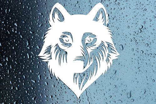 Wolf Werewolf Car Window Sticker Decal