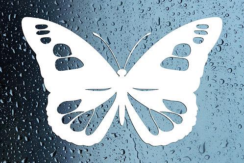 Butterfly Car Window Sticker Decal