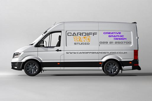 Car & Van Graphics Cardiff Brand Studio.