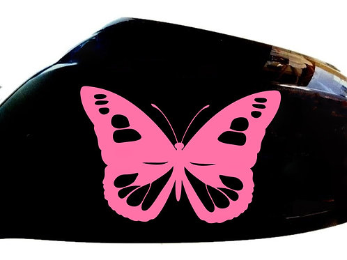 Butterfly Car Sticker Wing Mirror Styling Decals (Set Of 2)