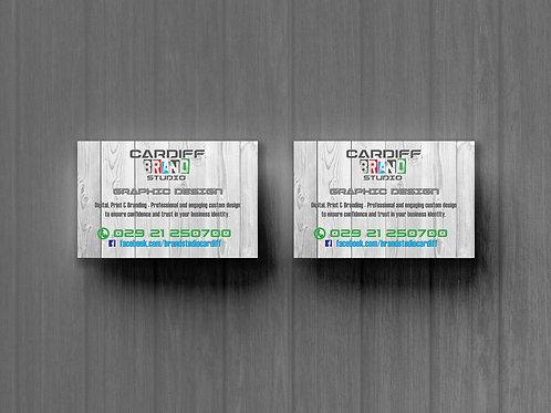 Premium Business Cards CUSTOM DESIGNED FOR YOU