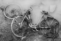 Vélo rouillé