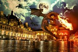 Place ducale dragon