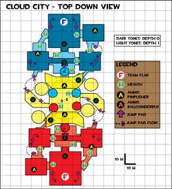 LDD - Map - Top Down View
