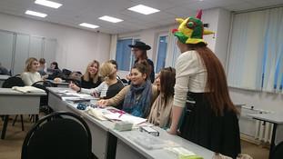 Мастер-класс по трансформационным играм в РУДН