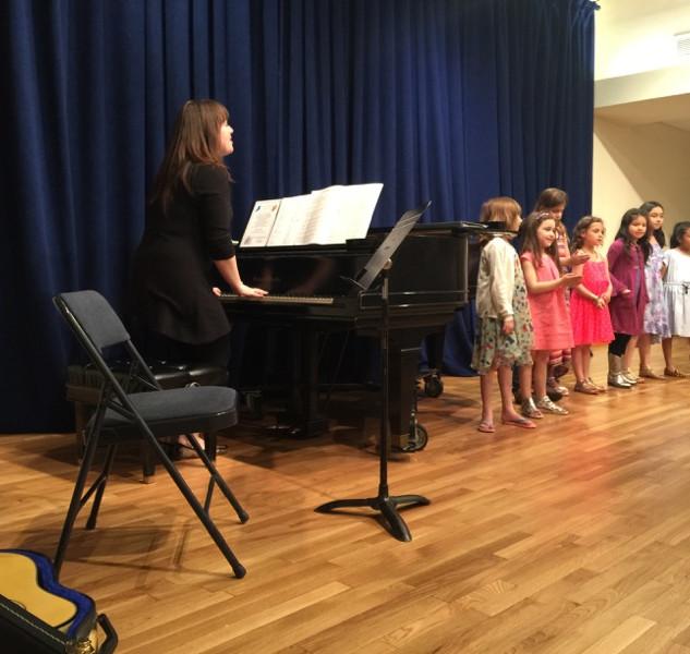 Conducting children's choir