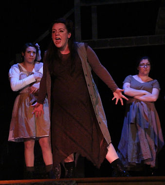 Samantha Gambaccini as Little Becky Two Shoes in Urinetown