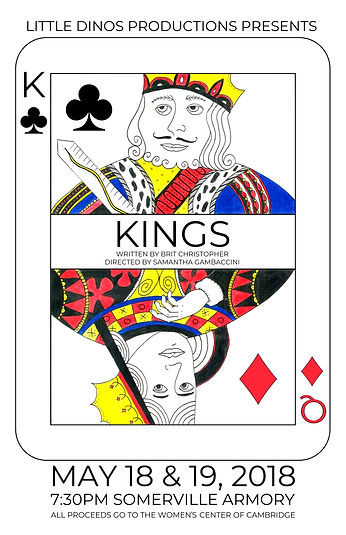 Kings by Brit Christopher show poster