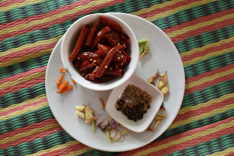 THAÏLANDE | Sur la route des currys.... Les currys thaïs!